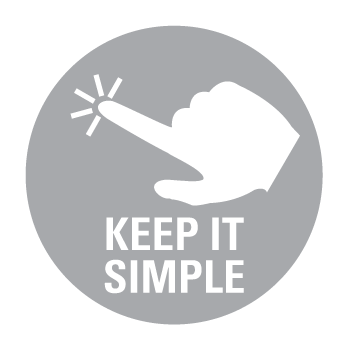 APi Communications audio visual installation Keep it simple icon