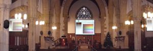 Audio visual church installation APi Communication Exeter heading