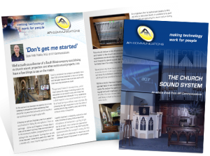 The Church Sound System Leaflet PDF download