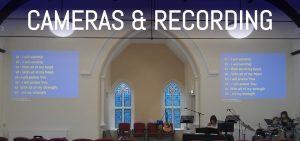 church sound systems cameras & recording