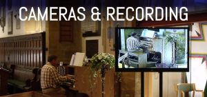 Church camera & recording systems by APi Sound & Visual