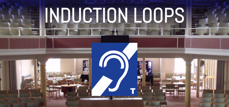 Church induction loop systems