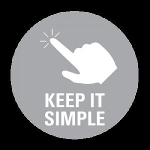APi Sound & Visual audio visual installation Keep it simple icon