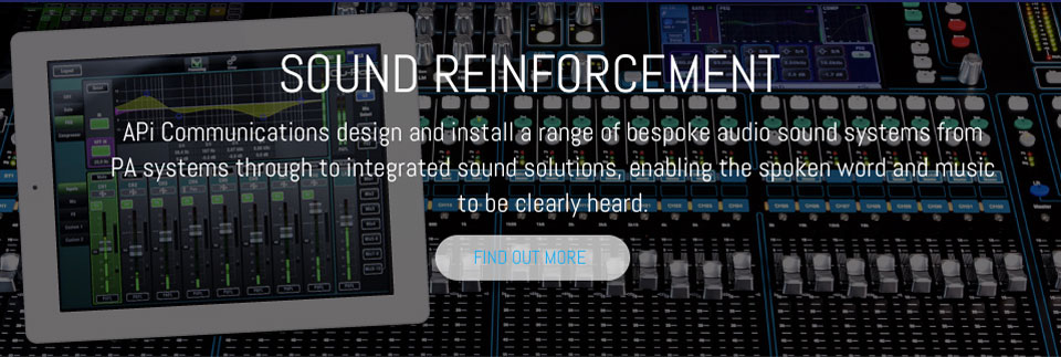 API Sound Reinforcement System for Churches in Devon & the South West