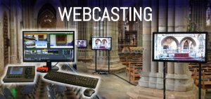 Church webcasting with APi Sound & Visual