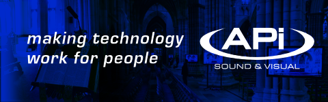 Church Sound Systems making technology work for people with APi Sound & Visual Header